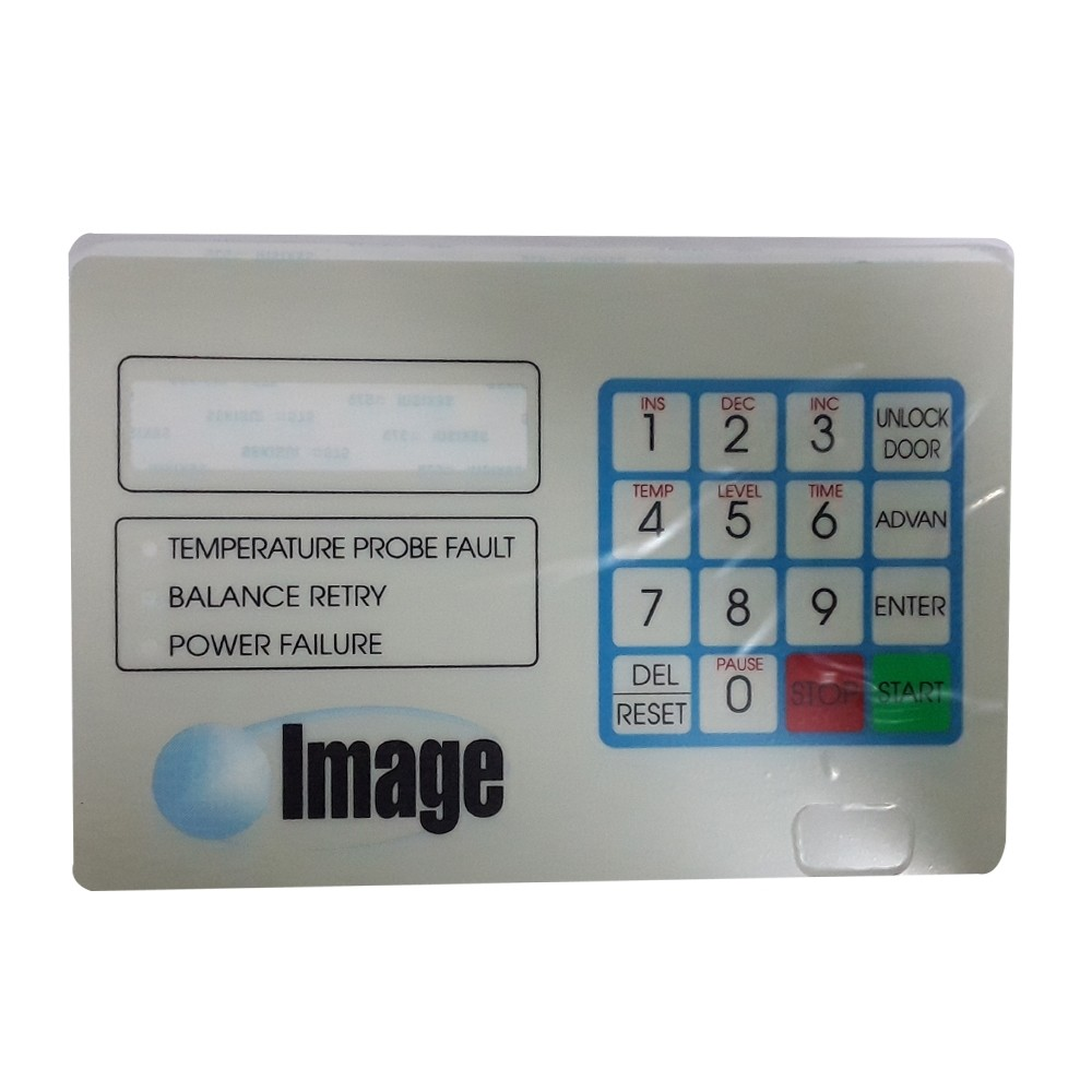 Image# A0-A090-002,Washer Control Keypad Decal El-6