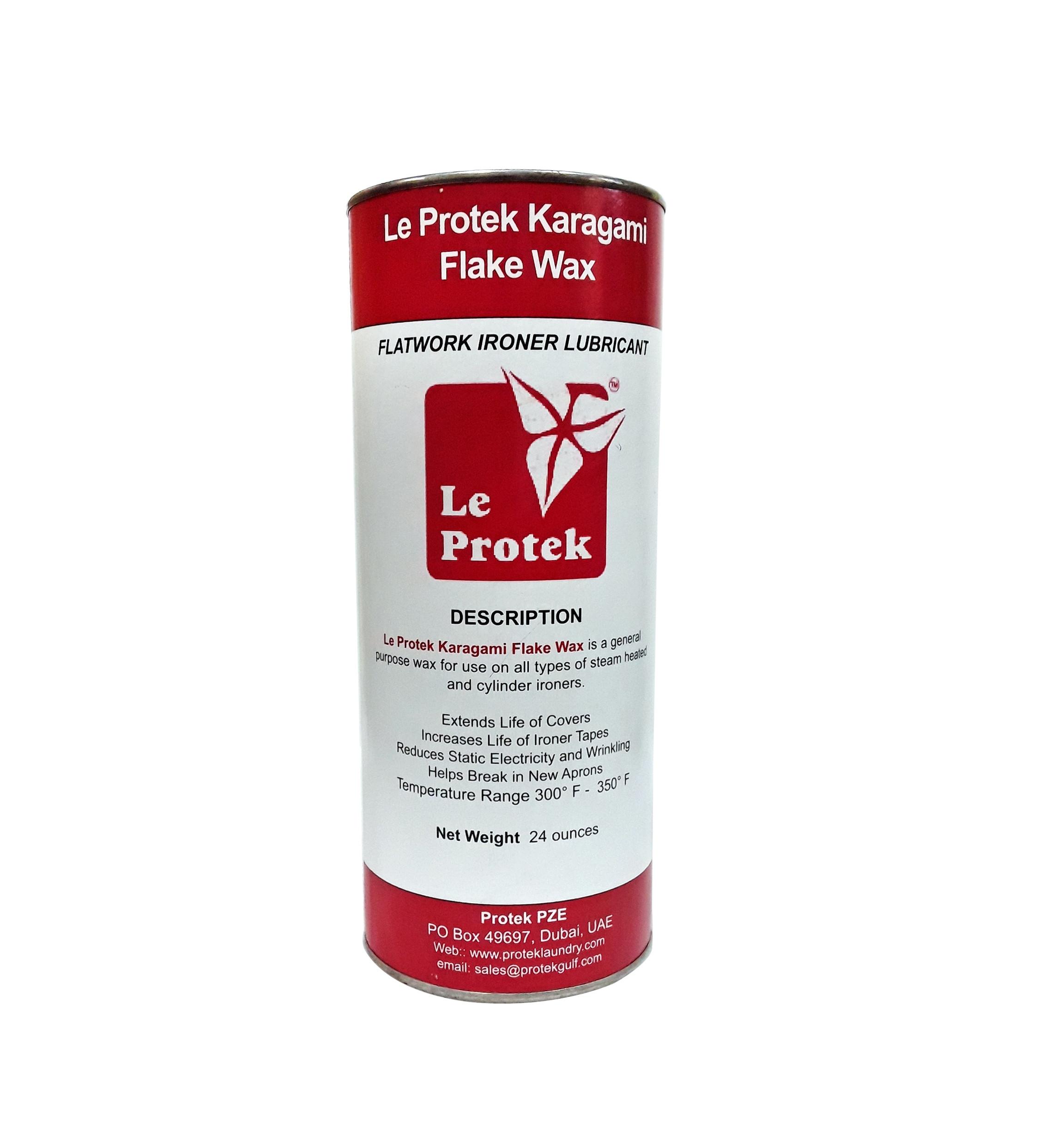 Le Protek Karagami Flake Wax