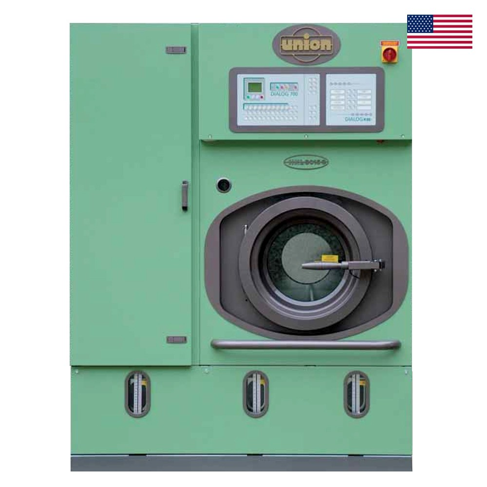 UNION MULTISOLVENT DRYCLEANING MACHINES (Capacity-10 kg)