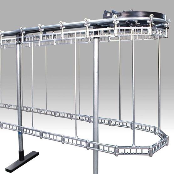 White Double Deck Stor-U-Veyor