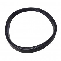 Unimac UNE135, 253/00162/01 Gasket Rubber door glass