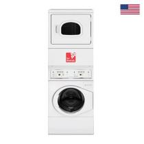 Le Protek Stack Washer, Dryer Gas Capacity- Washer:10.2, Dryer: 10.2 Kg