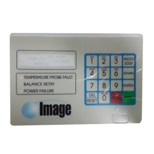 Image# A0-A090-002,Washer Control Keypad Decal El-6
