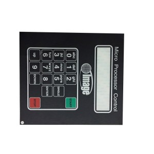 Image# A0-A090-001, Micro Control Keypad Decal