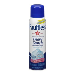 Faultless Spray Starch, Heavy 12/20 OZ